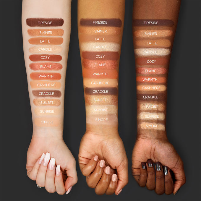 Toasted Swatches SHADES